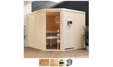 Karibu Sauna »Evka«, 9-kW-Bio-Ofen mit ext. Steuerung kaufen