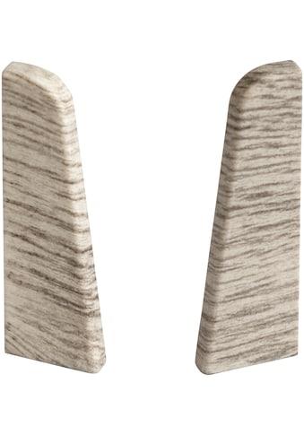 EGGER Endstücke »Esche grau«, für 6 cm Sockelleiste kaufen