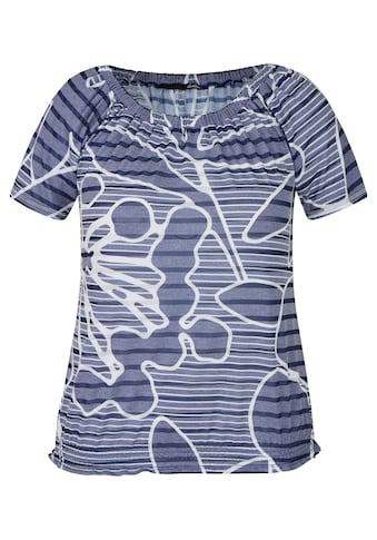 LeComte T-Shirt, mit Mustermix und elastischem Bund kaufen