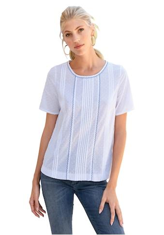 Peter Hahn Blusenshirt »zum Schlupfen«, mit Spitze kaufen