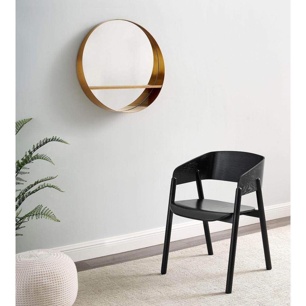 COUCH♥ Spiegel »Glasklar«, Spiegel mit Regal, COUCH Lieblingsstücke