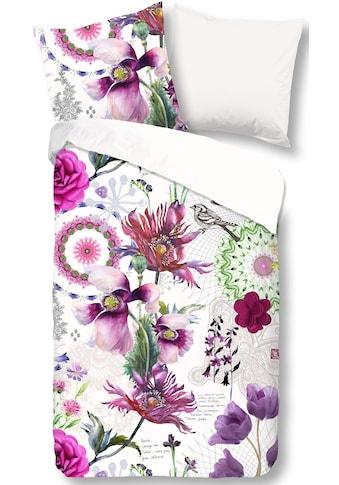 good morning Wendebettwäsche »Flora«, mit Blumen kaufen