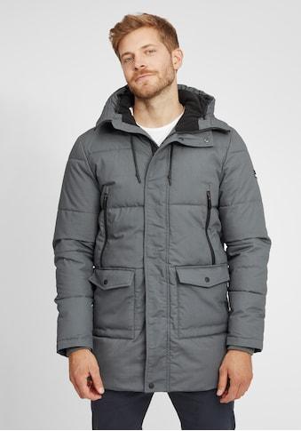 Solid Parka »Anato«, Winterjacke gefüttert mit Fleece-Kapuze kaufen
