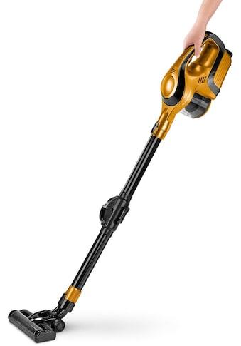 CLEANmaxx Akku-Hand-und Stielstaubsauger »2in1 14,8V gold/schwarz mit Gelenk-Saugrohr« kaufen