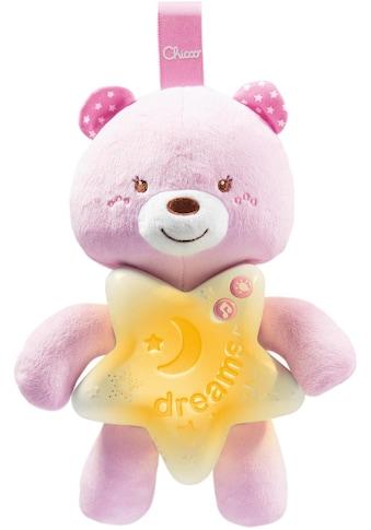 Chicco Kuscheltier »Gute Nacht Bärchen, Pink«, mit Licht und Sound kaufen