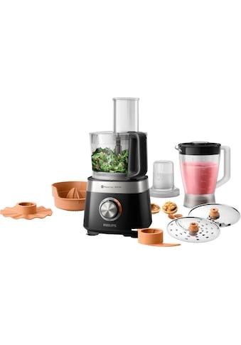 Philips Küchenmaschine »HR7530/10«, 31 Funktionen, 2-in-1 Schneidescheibe, Zitruspressenaufsatz kaufen