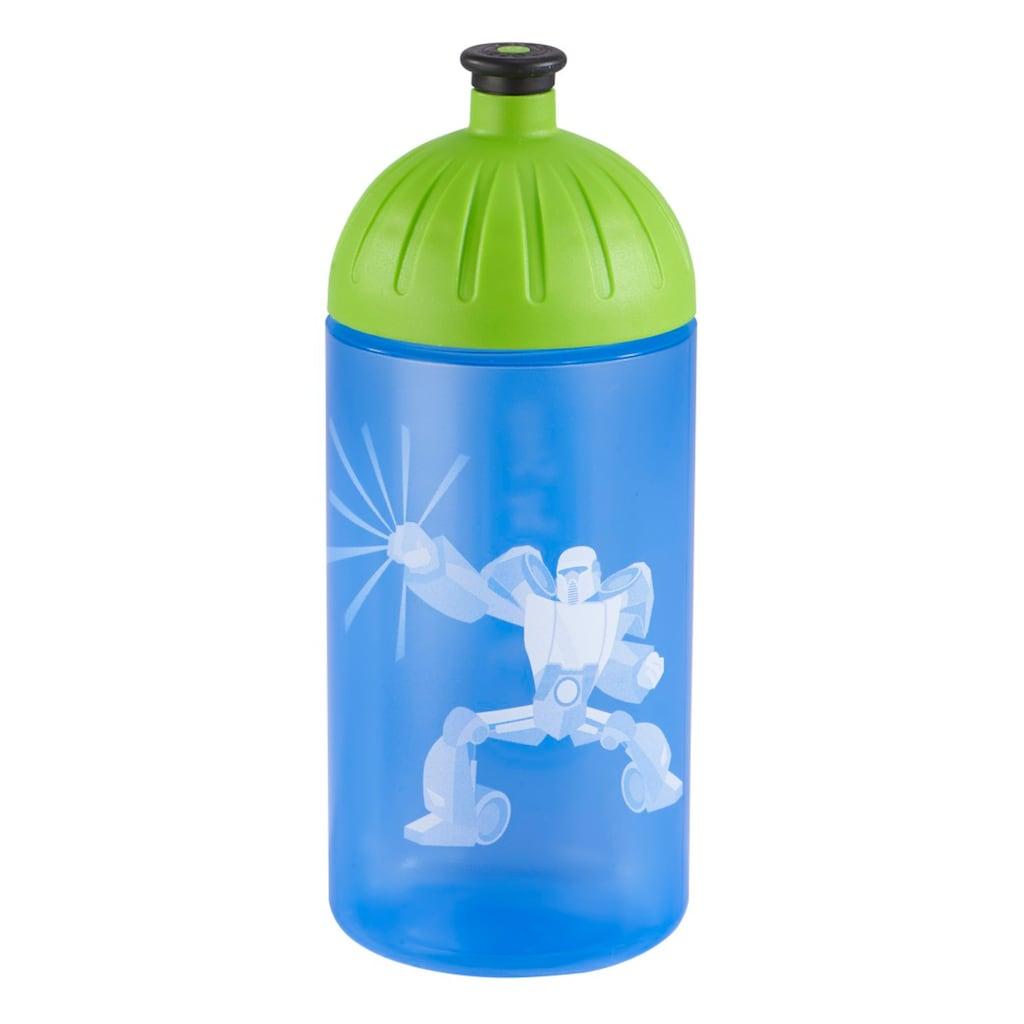FreeWater Trinkflasche, Power Robot, Blau