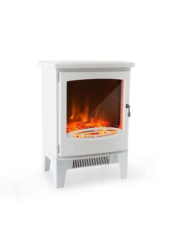 Klarstein Elektrischer Kamin 950/1850W InstaFire dimmbar weiß »Meran« kaufen