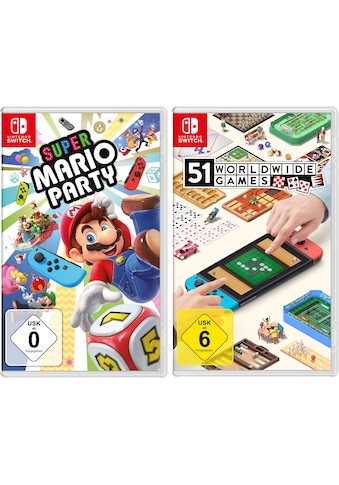 Nintendo Switch Spiel »Super Mario Party + 51 Worldwide Games«, Nintendo Switch kaufen