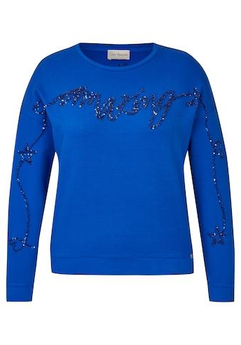 "VIA APPIA Süßes Sweatshirt ""amazing"" Plus Size kaufen"