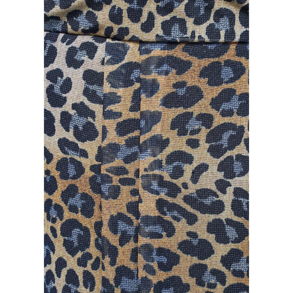 Boysen's Meshkleid »Soulfully«, mit Animal Print