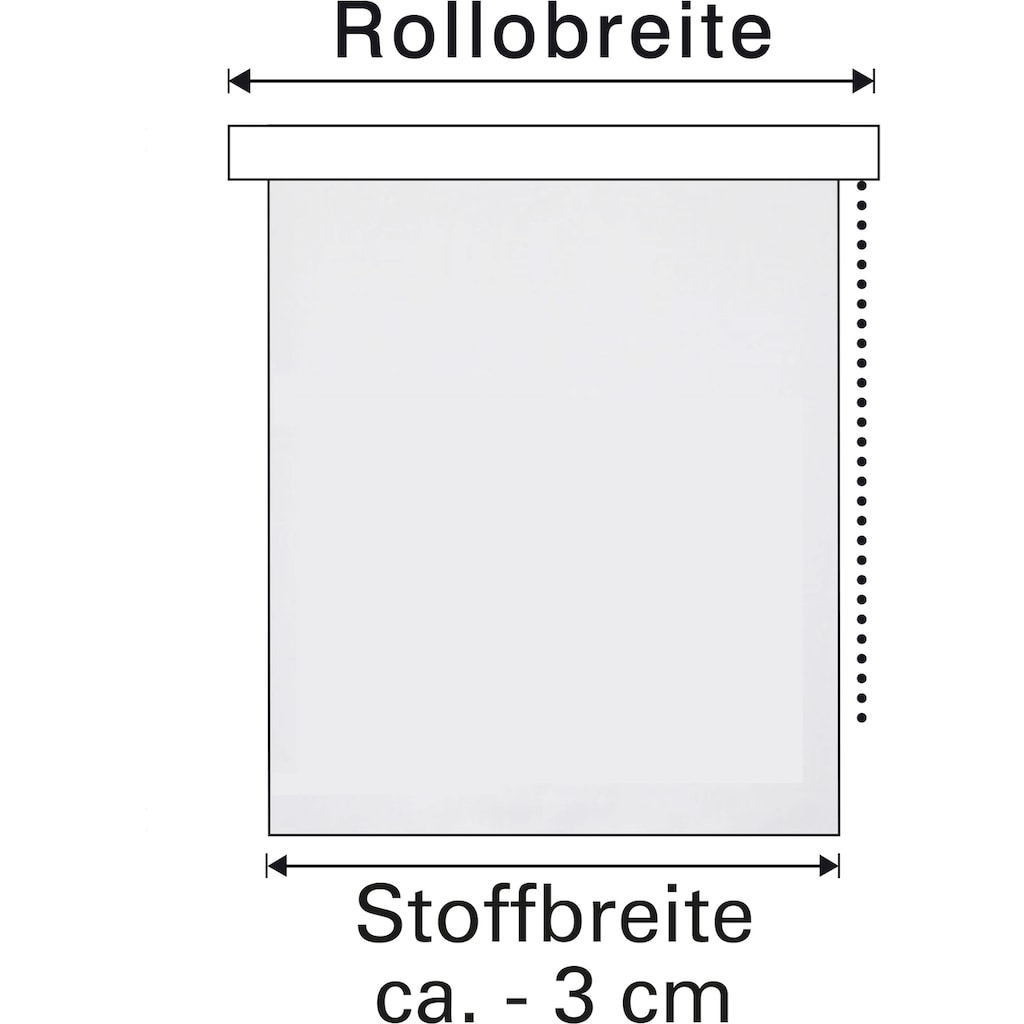 GARDINIA Seitenzugrollo »Comfort Move Rollo«, Lichtschutz, ohne Bohren, freihängend, ohne Bedienkette