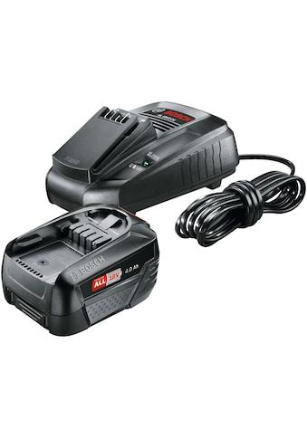 BOSCH Akku - Set »Power4All«, Akku (18 V, 4,0 Ah) + Ladegerät kaufen