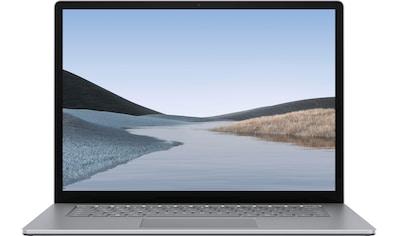 "Microsoft Surface Laptop 3 15"" – 8GB / 256GB Ryzen™ 5 Platin Grau Notebook (38 cm / 15 Zoll, AMD,Ryzen 5, 256 GB SSD) kaufen"
