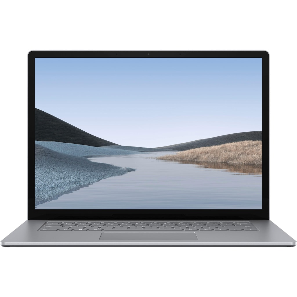 "Microsoft Notebook »Surface Laptop 3 - AMD - 15"" 256/8GB, Platin«, ( 256 GB SSD)"