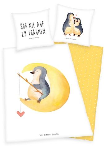 Wendebettwäsche »Mr. & Mrs. Panda«, kaufen