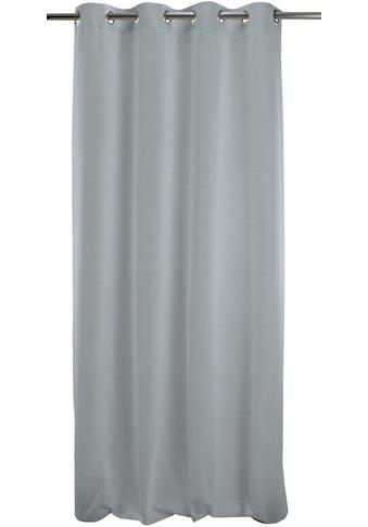 APELT Vorhang »Alfa 135X245«, HxB: 245x135, Alfa, Ösenschal mit Metallösen kaufen