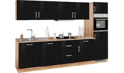 HELD MÖBEL Küchenzeile »Tinnum«, mit E-Geräten, Breite 300 cm kaufen
