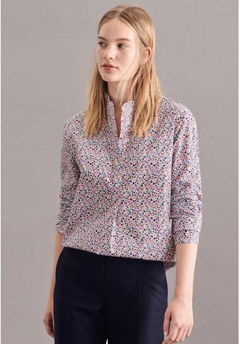 seidensticker Klassische Bluse »Schwarze Rose«, Tunika Druck kaufen