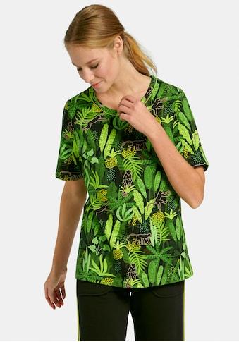 MYBC T-Shirt »mit 1/2-Arm«, und Allover-Print kaufen