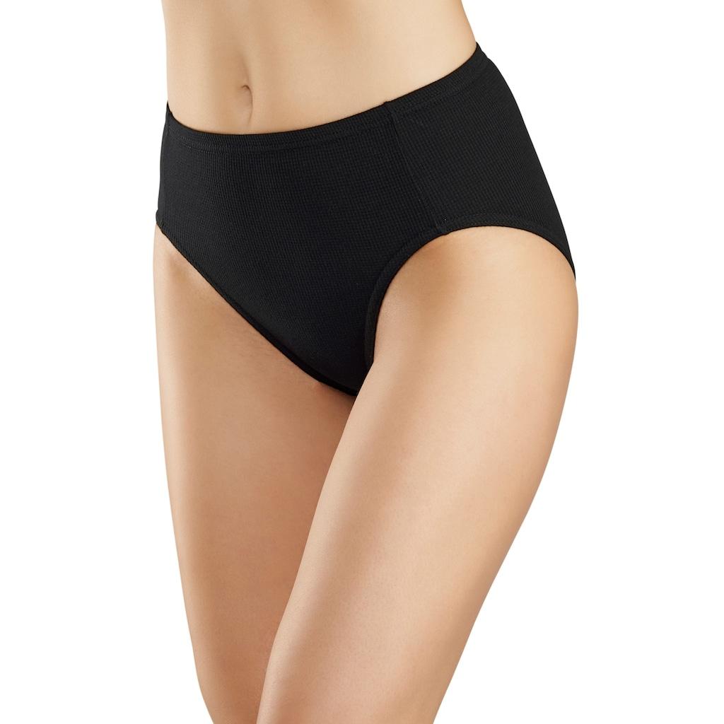 petite fleur Jazz-Pants Slips, (5 St.), aus weicher Pikee-Qualität