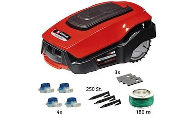 EINHELL Rasenmähroboter »FREELEXO+ LCD Kit«, für Rasenflächen bis ca. 800 m² kaufen