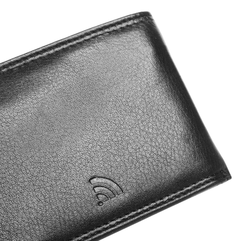 BODENSCHATZ Geldbörse »KINGS NAPPA«, Kreditkartenfächer