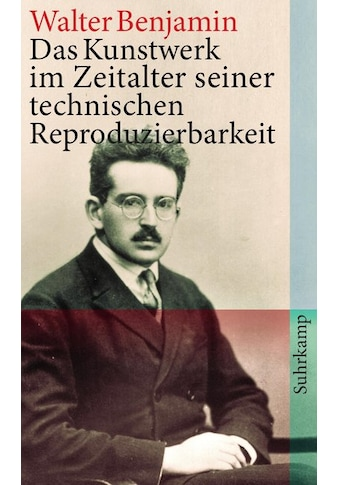 Buch »Das Kunstwerk im Zeitalter seiner technischen Reproduzierbarkeit / Walter Benjamin« kaufen