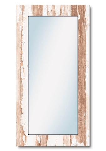 Artland Wandspiegel »Home«, gerahmter Ganzkörperspiegel mit Motivrahmen, geeignet für... kaufen