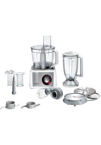 BOSCH Kompakt - Küchenmaschine MultiTalent 8 MC812S814, 1250 Watt, Schüssel 3,9 Liter kaufen