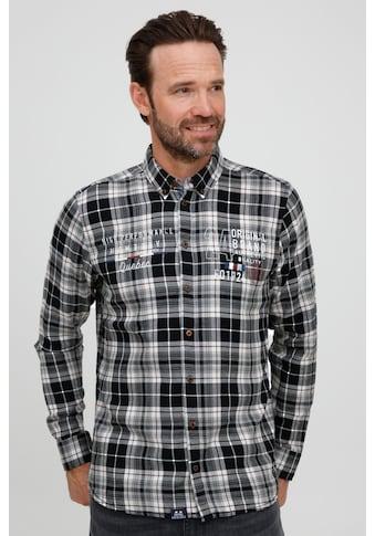 FQ1924 Langarmhemd »Thorvid 21900072ME«, Modernes Hemd mit dezentem Print kaufen
