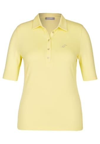 Rabe Shirt mit Polo - Kragen im unifarbigen Design kaufen