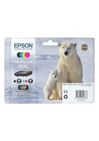 Epson Tintenpatronen-Set XL Nr. 26XL kaufen