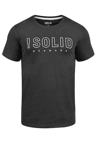 Solid Rundhalsshirt »Solido« kaufen