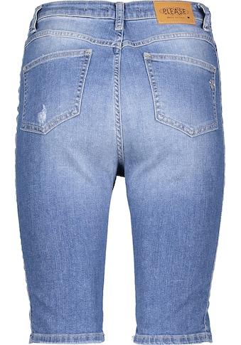 Please Jeans Jeansshorts »D0ER«, mit leichten Destroyed Effekten kaufen