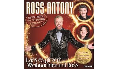 Musik-CD »Lass es glitzern:Weihnachten mit Ross / Ross Antony« kaufen