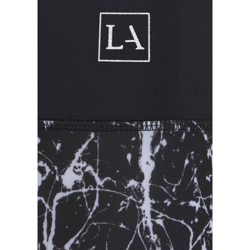 LASCANA ACTIVE Leggings »Splash«, mit Allover Muster