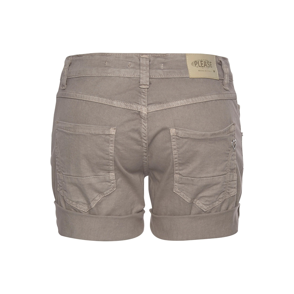 Please Jeans Jeansshorts »P88A«, Trend: Smokey Pastel