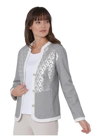Creation L Premium Jersey - Blazer mit einem silberfarbigen Glanz - Druck kaufen