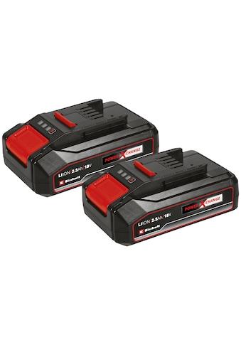 Einhell Akku »18V 2,5Ah PXC-Twinpack CB«, 2500 mAh, 18,0 V kaufen