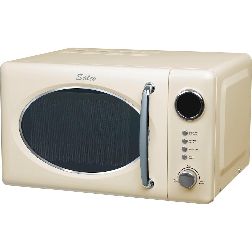 SALCO Mikrowelle »SRM-20.6G«, Grill, 800 W