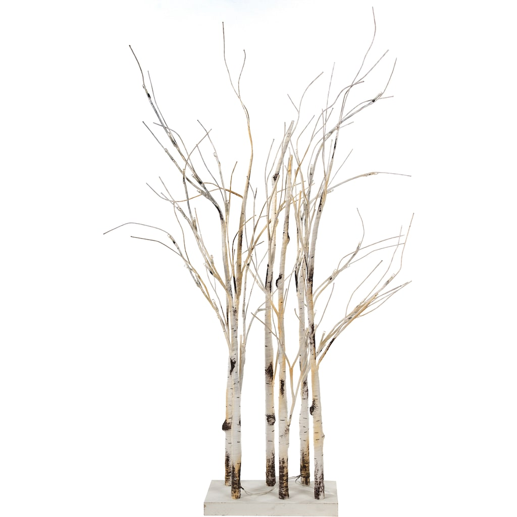 LED Baum »Divid«, Warmweiß, Raumteiler, Batteriebetrieb