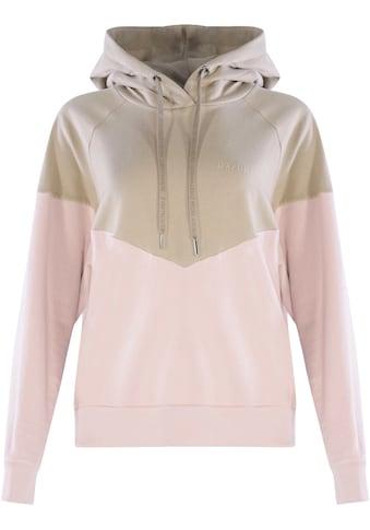 MAZINE Sweatshirt »Olbia«, sportiver Hoody in Pastellfarben kaufen