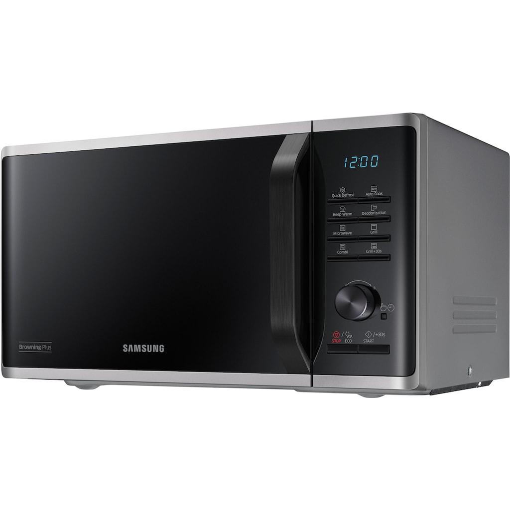 Samsung Mikrowelle »MG23K3515AS/EG«, Mikrowelle, 800 W