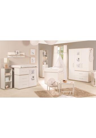 roba® Babyzimmer-Komplettset »Moritz«, (Set, 3 St.), schmal; mit Kinderbett, Schrank... kaufen