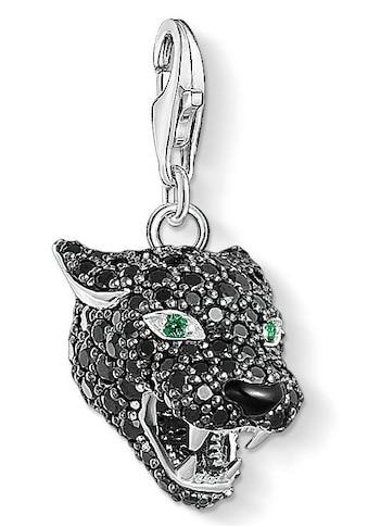"""THOMAS SABO Charm-Einhänger »Charm-Anhänger """"Black Cat"""", 1696-845-11«, mit Zirkonia... kaufen"""