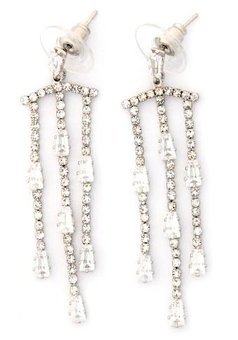 J.Jayz Paar Ohrstecker »extravagant, mehrreihig, auffällig«, mit Glas- und Strasssteinen kaufen