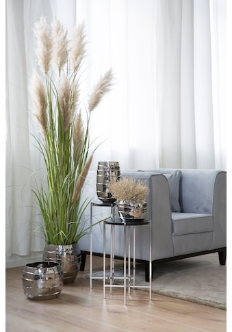 Fink Übertopf »Cocon, silberfarben«, (1 St.), Blumenübertopf, Blumentopf, Höhe 40 cm,... kaufen