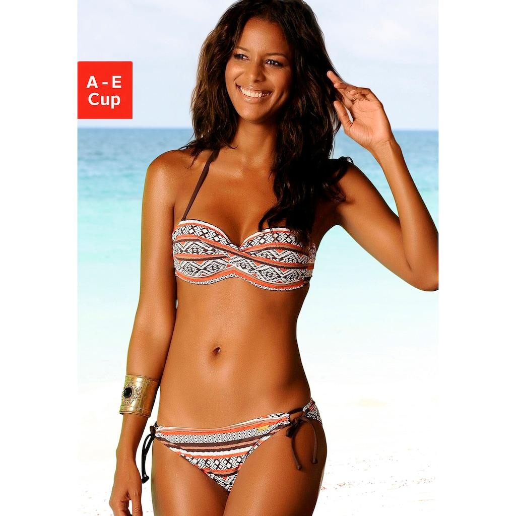LASCANA Bandeau-Bikini-Top »Wintu«, im modischen Design