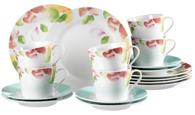 "Ritzenhoff & Breker Kaffeeservice ""Severine"" (18 - tlg.), Porzellan kaufen"
